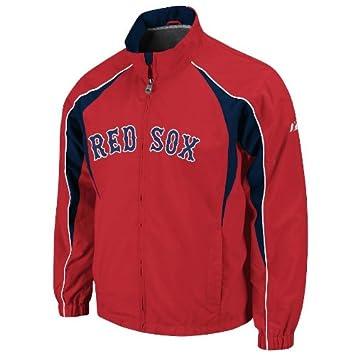 MLB Boston Red Sox Vindicator Cremallera Completa Chaqueta, Hombre, Rojo, Large: Amazon.es: Deportes y aire libre