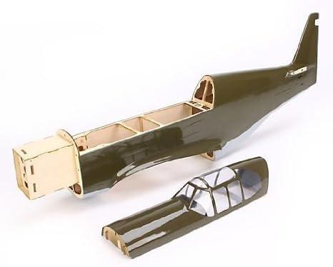 E-Flite Fuselage: P-51B Mustang おもちゃ (並行輸入)