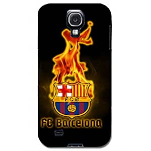 FC Barcelona Burning Logo Hot Hard Plastic Phone Case for Samsung Galaxy S4 I9500