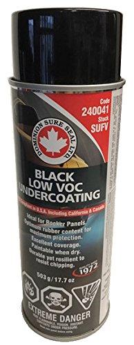 SUFV Black Low VOC Undercoating, Aerosol, 240041
