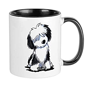 CafePress Tibetan Terrier Mug Unique Coffee Mug, Coffee Cup 30