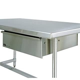 Metro WTD51S Stainless Steel 304 Deluxe Drawer for Worktables, 25-3/4″ Length x 24″ Width x 7-1/2″ Height
