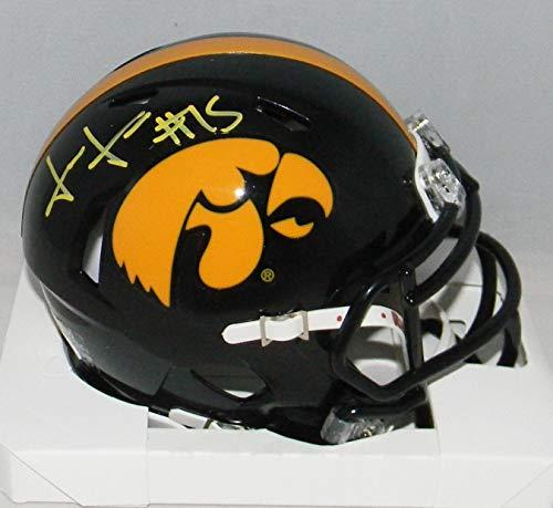 - Josh Jackson Autographed Signed Iowa Hawkeyes Speed Mini Helmet - JSA Certified - Autographed College Mini Helmets