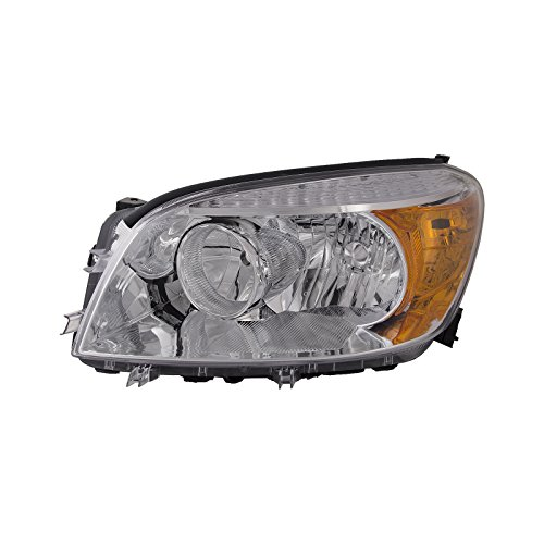 Toyota RAV4 Headlight OE Style Replacement Headlamp Left Driver Side (Driver Headlight Rav4 Toyota)