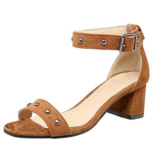 Zapatos Tacón cubano para mujer qCAD0lK2q6