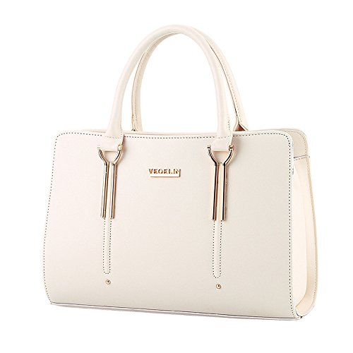 Leather Pu Womens BARLEY Handbag Top Bags Color Handle Beige Pure Tote XIN Boutique TAnXZfT