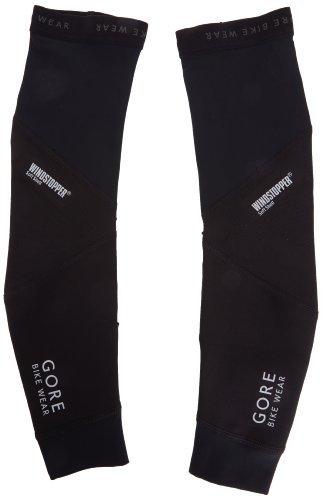 GORE BIKE WEAR AOXSOA Unisex WINDSTOPPER Universal SO Arm Warmers, black by Gore Bike Wear (Arm Warmer Windstopper)