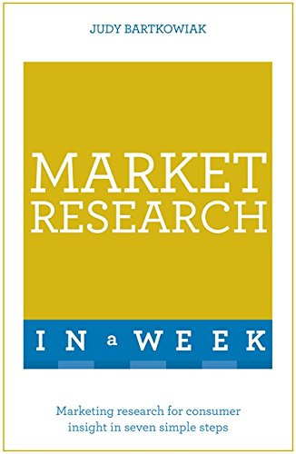 Market Research in a Week: Teach Yourself