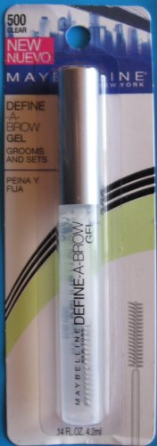 Maybelline Brow Styling Gel 500 Clear