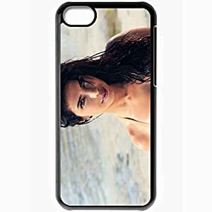 Personalized iPhone 5C Cell phone Case/Cover Skin 2013 Priyanka Chopra Celebrities Black