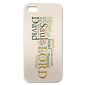 The Holy Bible logo Design for iPhone 5/5s hard back shell
