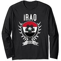Iraqi Football 2018 Long Sleeve Shirt Iraq Soccer Jersey