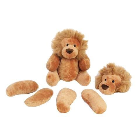 Rippys Pull Apart Lion Dog Toy--