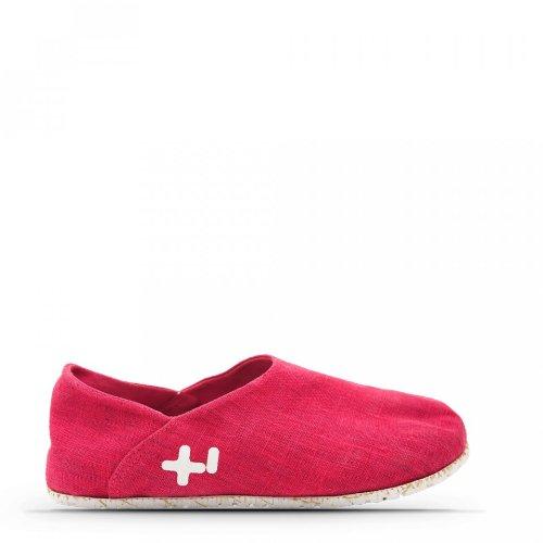 OTZ Women's 300 Gms Linen Slip-On Shoes, Fluro Pink, 39 M Eu / 9 B(M) Us]()