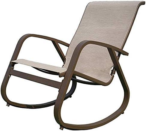 Kozyard Outdoor Contemporary Patio Rocking Sling Chair