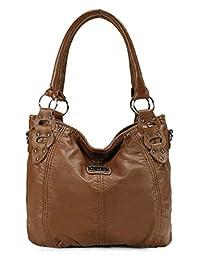 Scarleton Washed Hobo Bag H1533