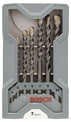 Bosch Professional 7tlg. Betonbohrer Set CYL-3 (für Beton, Ø 4-10 mm, Zubehör Schlagbohrmaschine) 2