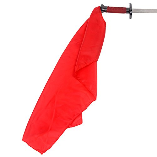 Broadsword Long Sash - Red