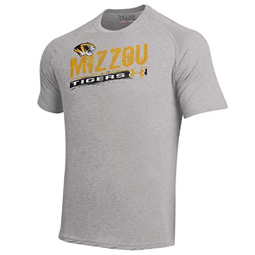Under Armour Men's  NCAA Short Sleeve Tech Tee -  Missouri Tigers - Medium