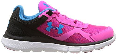 Under Armour Micro G Velocity Rn - Zapatillas de Running de material sintético Mujer Rebel Pink/Black/Capri