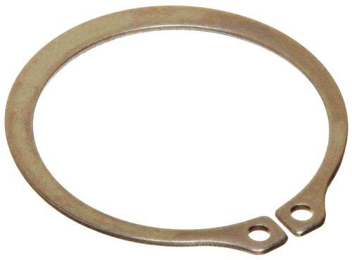 [해외]표준 외부 고정 링, 테이퍼 진 부분, 축 방향 조립체, 1060-1090 탄소강, 카드뮴 도금 피니시, 인치, 미국산/Standard External Retaining Ring, Tapered Section, Axial Assembly, 1060-1090 Carbon Steel, Cadmium Plated Finish, Inch, Made in U...