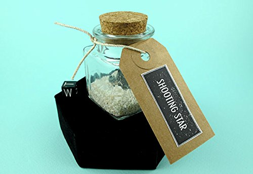 Shooting Star Jar! Make a Wish / Russian Meteorite, Sikhote-Alin Iron Meteorite Shrapnel Collectible