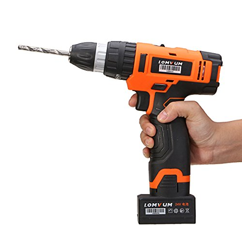 Utini 220V 8724ST Drill Multifunction Battery Electric Screwdriver Rechargeable Tool