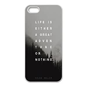 Dustin Adventure or Nothing Cases for IPhone 5,5S, with White