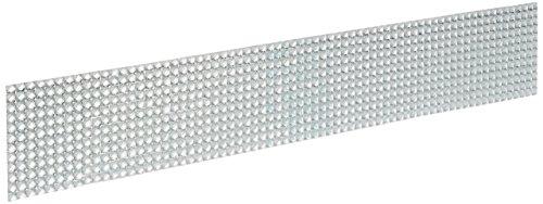 Darice VL708-1 4 mm Rhinestone Adhesive Backed Strip, 2-Inch (Strips Rhinestone Adhesive)