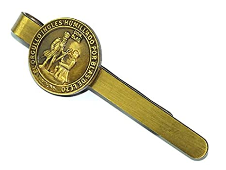 Gemelolandia Pasador de Corbata Medalla de Blas de Lezo Homenaje ...