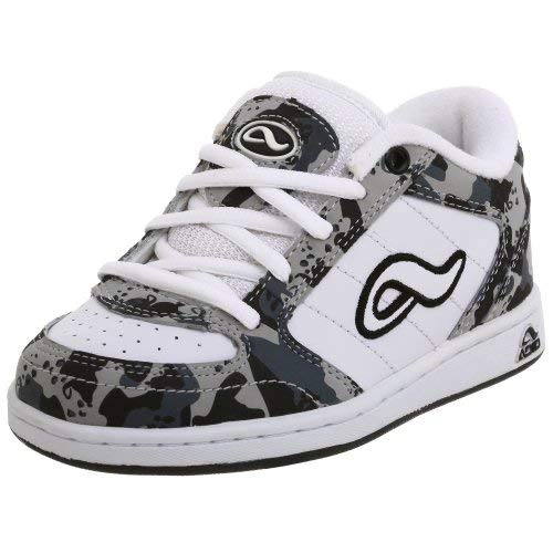 Adio Little Kid/Big Kid Hamilton Sneaker,White/Grey/Black,3 M US Little Kid by Adio (Image #1)