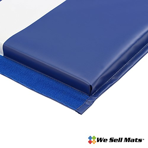 We x 6' Folding Tumbling Mat, Blue