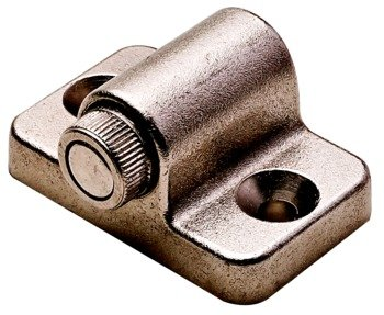 Adjustable Nickel Matt (Magnetic Catch, With Adjustable Magnet, Holding Power Approximately 2 kg, Nickel Matt)