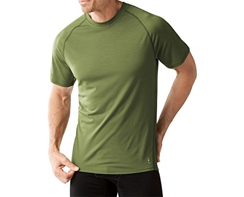 Smartwool Men's Merino 150 Baselayer Short Sleeve (Light Loden) Large
