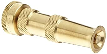 """Dixon BTN75 Brass Twist Nozzle, 3/4"""" GHT, 4"""" Length"""