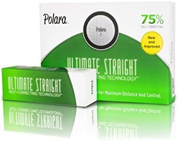 Polara Ultimate Straight Self-Correcting Golf Balls - 1 Dozen