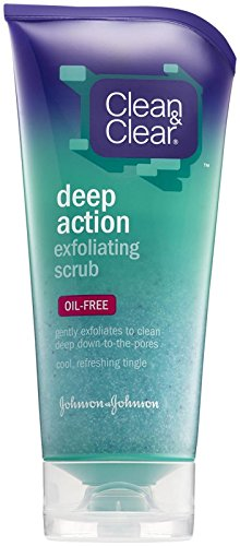 (Clean & Clear Deep Action Exfoliating Scrub - Oil Free - 5)