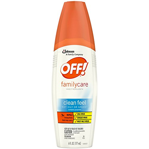 - OFF! Family Care, Insect Repellent II Clean Feel, 6 oz ( Pack of 6 )