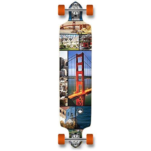 安い購入 YOCAHER プロフェッショナル スピード ロングボード ドロップダウン YOCAHER コンプリート ロングボード スケートボード スピード サンフランシスコ B00LATJ2F4, くらしのくら:4bd164de --- a0267596.xsph.ru