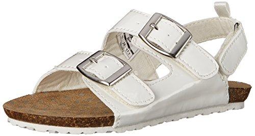 Price comparison product image OshKosh B'Gosh Teegan-G Triple Strap Casual Sandal (Toddler / Little Kid),  White,  8 M US Toddler