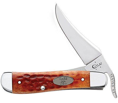 Case Whiskey Bone CV RussLock Pocket Knife