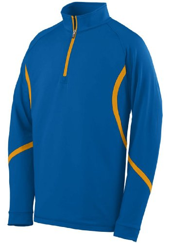 Augusta Adult Zeal Pullover (Royal_Gold) (S)