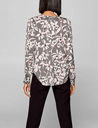 Blouse Esprit In 44 Xxl Eu Printed Size Women's Black REwgqpfE