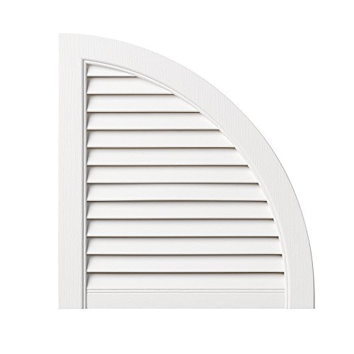 Ply Gem Shutters and Accents ARCH15LV 11 Open Louvered Arch Top, 15