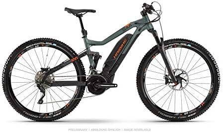Haibike Sduro FullNine 8.0 - Bicicleta eléctrica de pedaleo asistido, montaña (29 pulgadas), color negro, verde y naranja 2019, talla: XL: Amazon.es: Deportes y aire libre