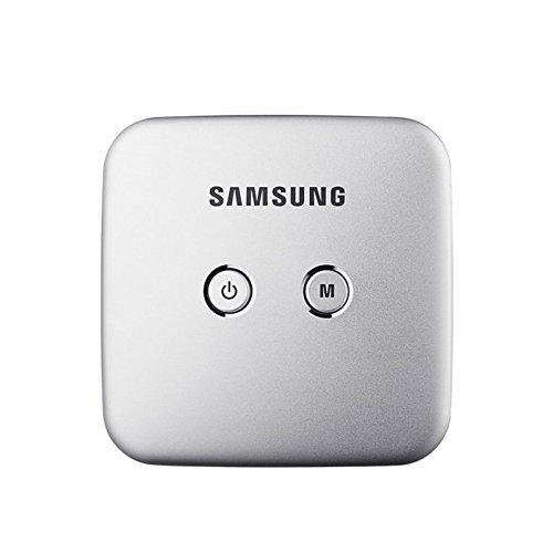 - Samsung Smart Beam Portable Mini Projector (SSB-10DLFN08 Silver) Wi-Fi Connection, Screen Mirroring (Samsung Smart View App), 4000mAh Battery