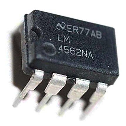 5 piezas LM4562NA DIP-8 Hi-Fi Audio Amplificadores de funcionamiento Op Amp IC baja distorsión ruido: Amazon.es: Electrónica