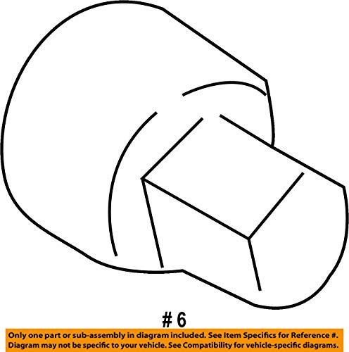 Set of 4 McGard 27226 Chrome Bolt Style Cone Seat Wheel Locks M14 x 1.25 Thread Size