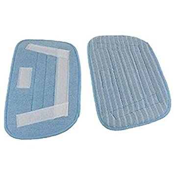 Home, Furniture & DIY Steam Cleaners 2 Pack Morphy Richards 720515 Multi Floors Steam Mop Carpet Microfibre Pads
