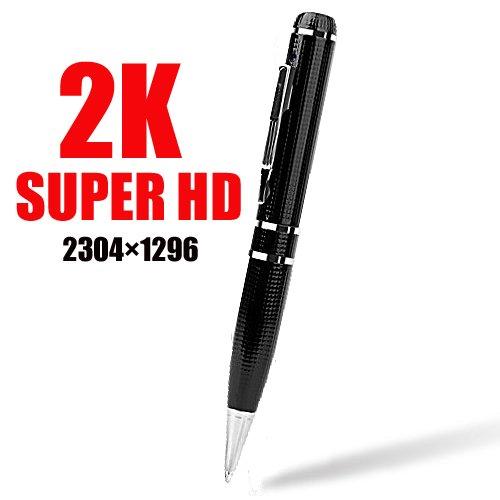 超高解像度 ペン型ビデオカメラ【2K】【32GB/64GB/128GB】最新版 (128GB) B0772XRRWP 128GB 128GB